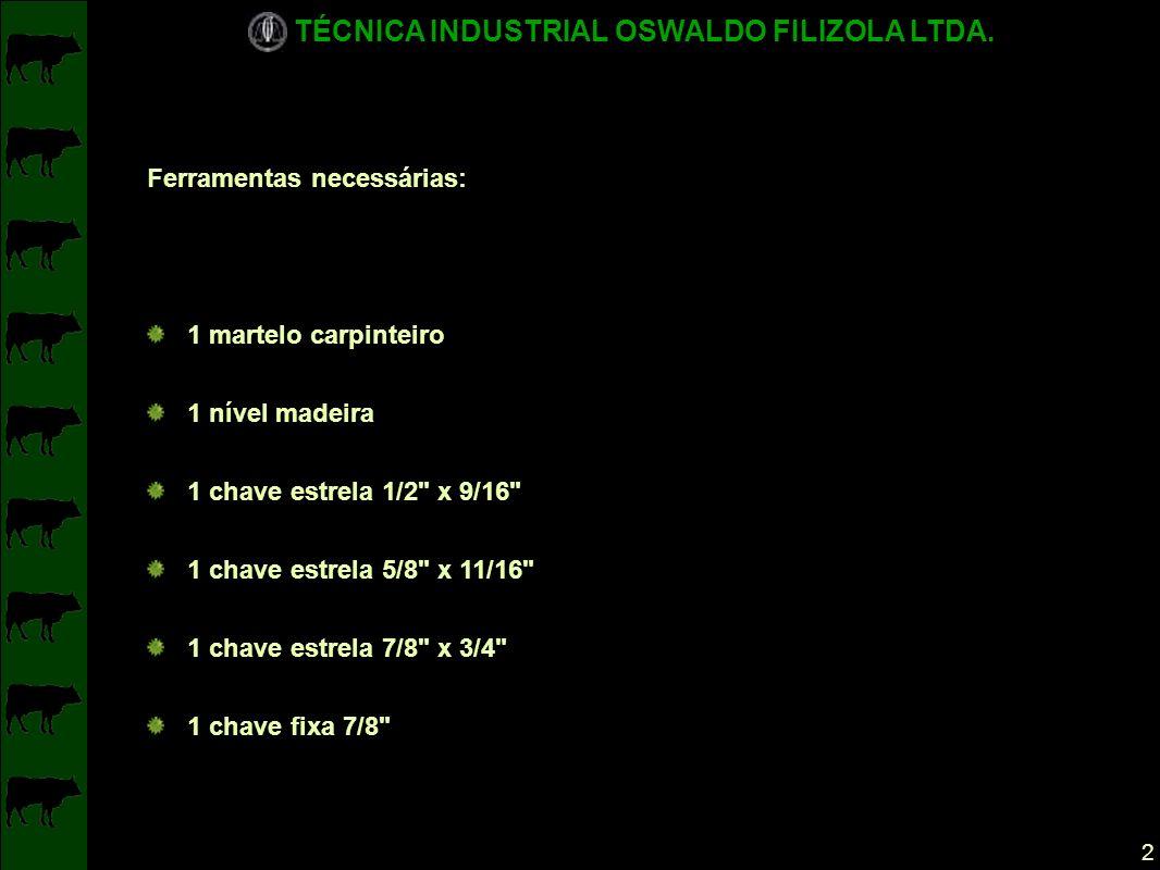 TÉCNICA INDUSTRIAL OSWALDO FILIZOLA LTDA.