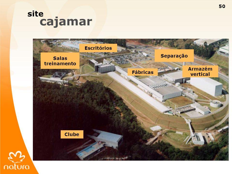 50 site cajamar Armazém vertical Separação Fábricas Escritórios Salas treinamento Clube