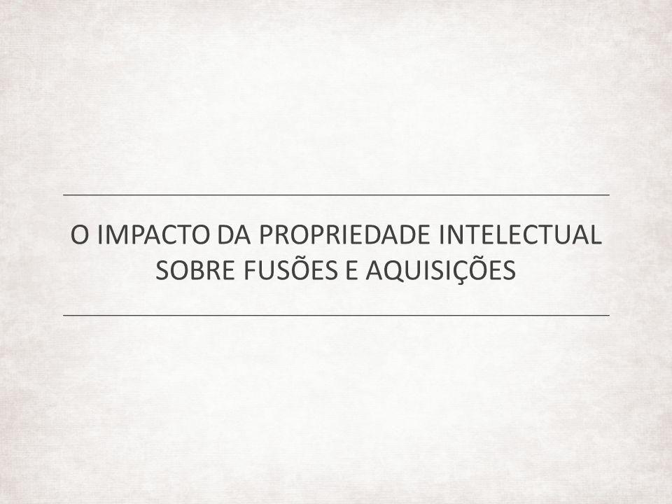O IMPACTO DA PROPRIEDADE INTELECTUAL SOBRE FUSÕES E AQUISIÇÕES