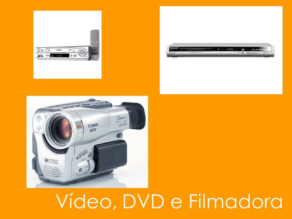 Vídeo, DVD e Filmadora