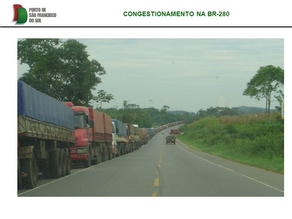 CONGESTIONAMENTO NA BR-280