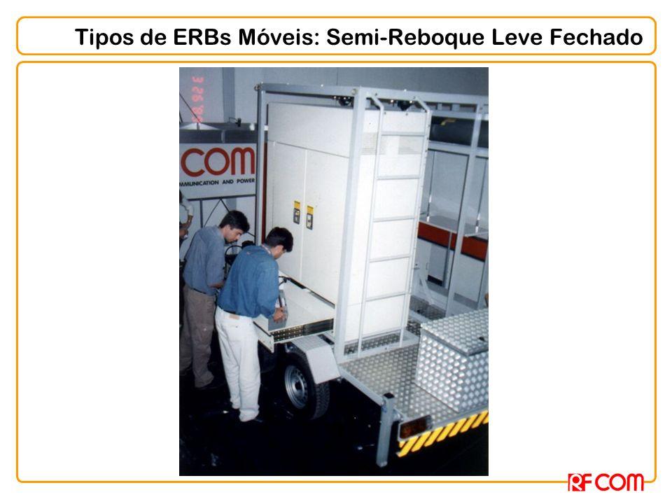 Tipos de ERBs Móveis: Semi-Reboque Leve Fechado