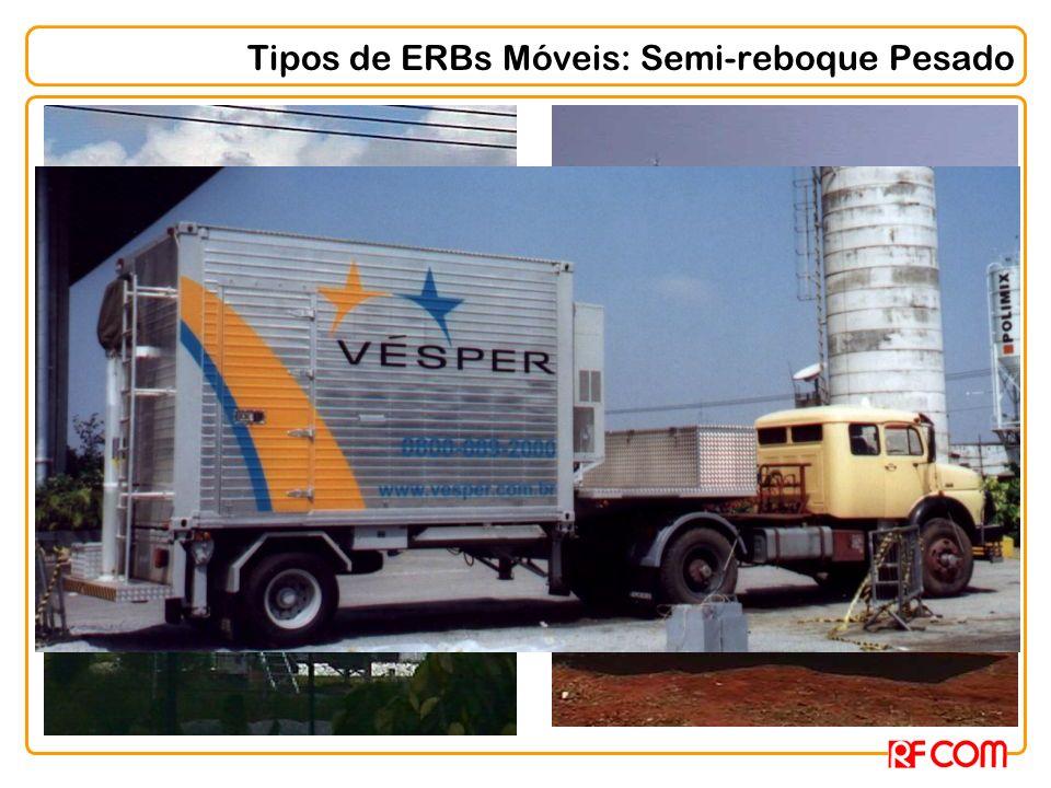 Tipos de ERBs Móveis: Semi-reboque Pesado