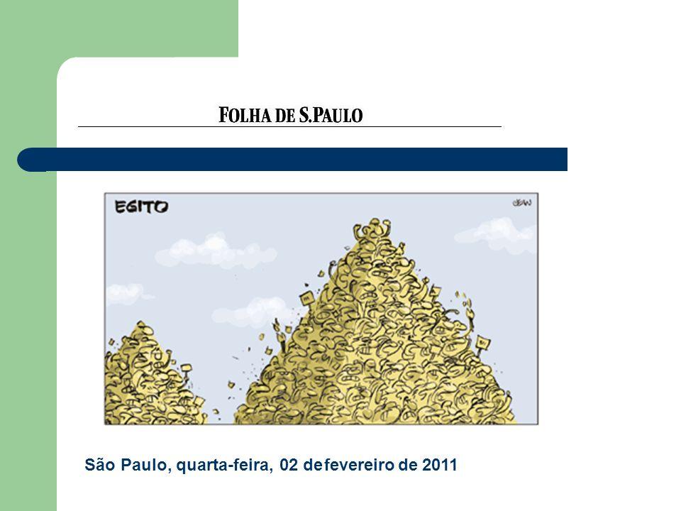 São Paulo, quarta-feira, 02 de fevereiro de 2011