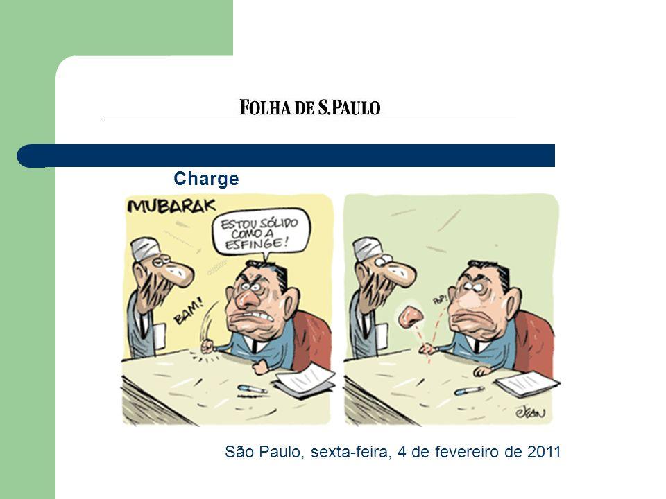 Charge São Paulo, sexta-feira, 4 de fevereiro de 2011