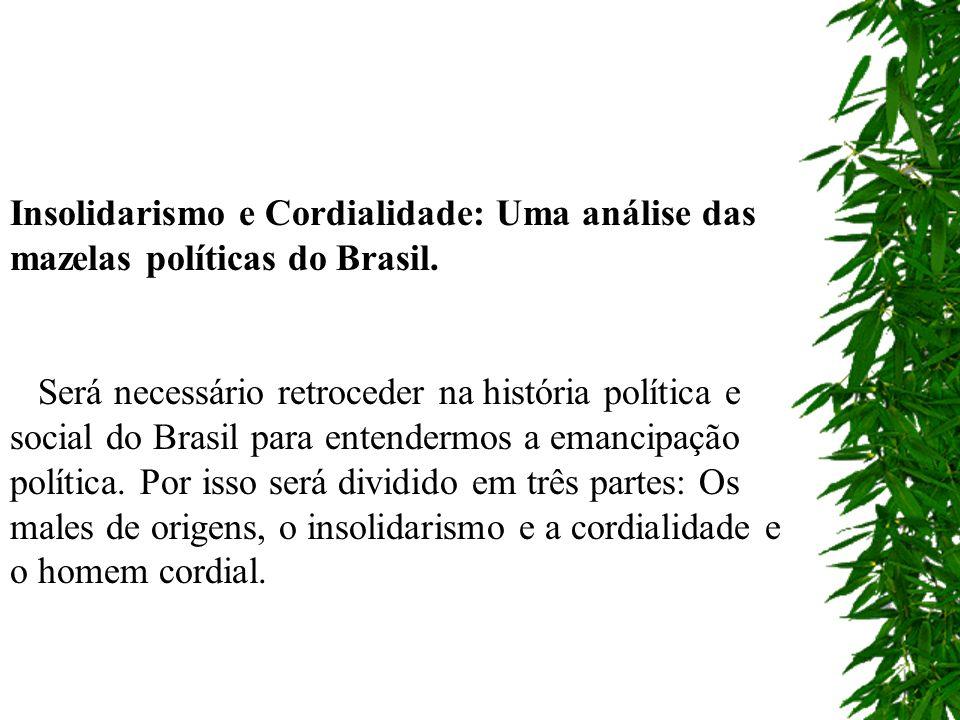 A independência ocorreu por interesses individuais ou de pequenos grupos hegemônicos, sem a participação do povo.