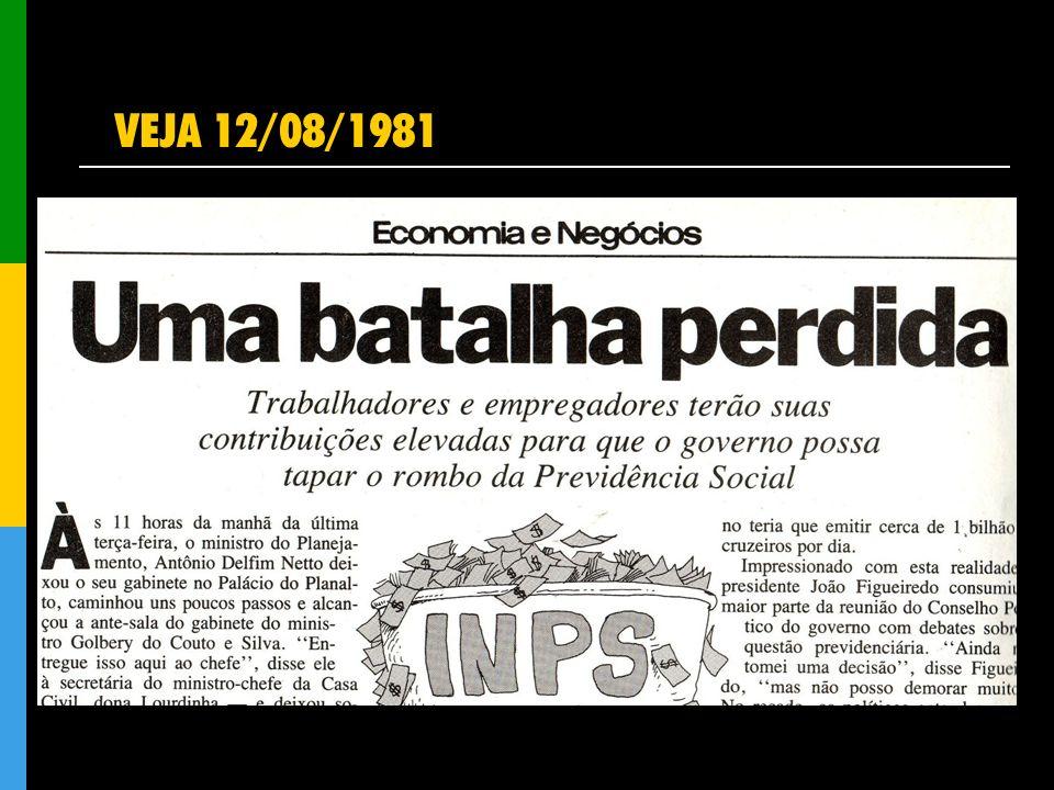 VEJA 12/08/1981
