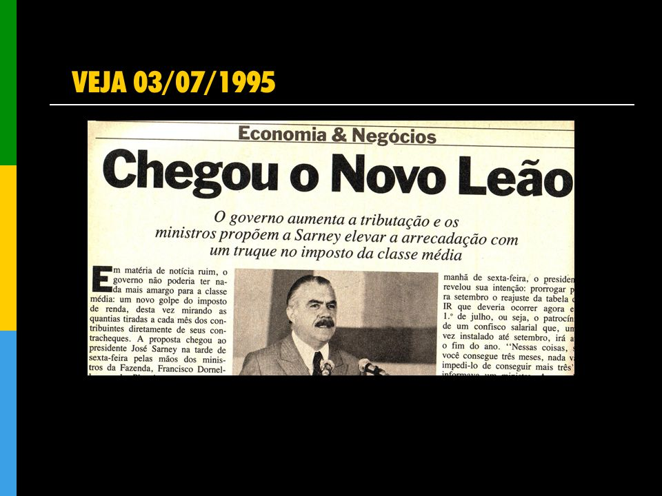 VEJA 03/07/1995