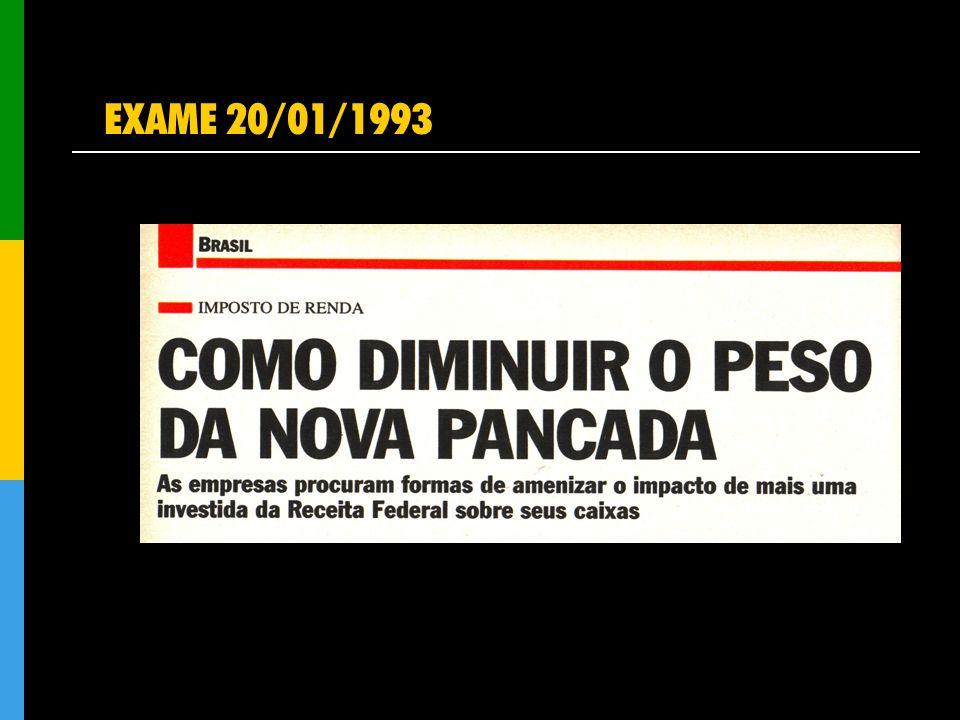 EXAME 20/01/1993