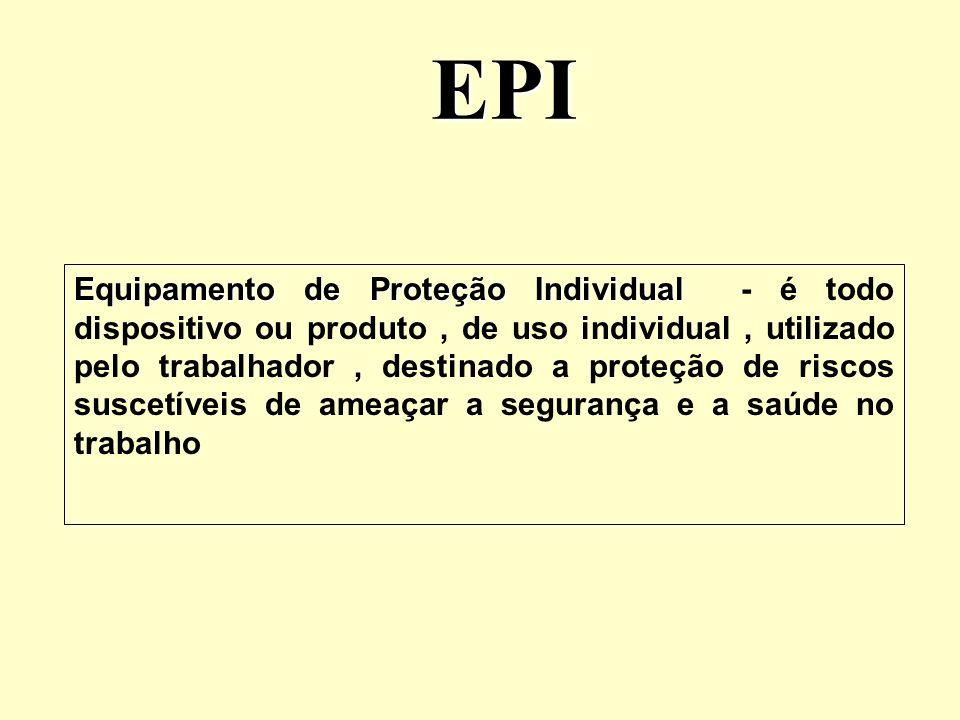 Obrigações do empregador Cabe ao empregador A empresa é obrigada a fornecer aos empregados, de forma gratuita, EPI adequado ao risco, em perfeito estado de conservação e funcionamento ( item 6.3 ); A empresa é obrigada a fornecer aos empregados, de forma gratuita, EPI adequado ao risco, em perfeito estado de conservação e funcionamento ( item 6.3 ); adquirir o adequado ao risco da atividade ( item 6.6 ); adquirir o adequado ao risco da atividade ( item 6.6 ); exigir seu uso; fornecer somente o EPI aprovado pelo órgão nacional competente; fornecer somente o EPI aprovado pelo órgão nacional competente; orientar e treinar o trabalhador quanto a seu uso, guarda e conservação; orientar e treinar o trabalhador quanto a seu uso, guarda e conservação; substituir imediatamente quando extraviado ou danificado; substituir imediatamente quando extraviado ou danificado; responsabilizar-se por sua manutenção e higienização.