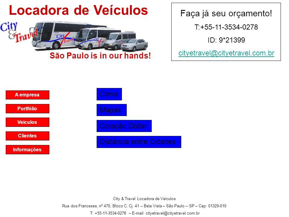 A empresa Portfólio Veículos Clientes Informações São Paulo is in our hands.
