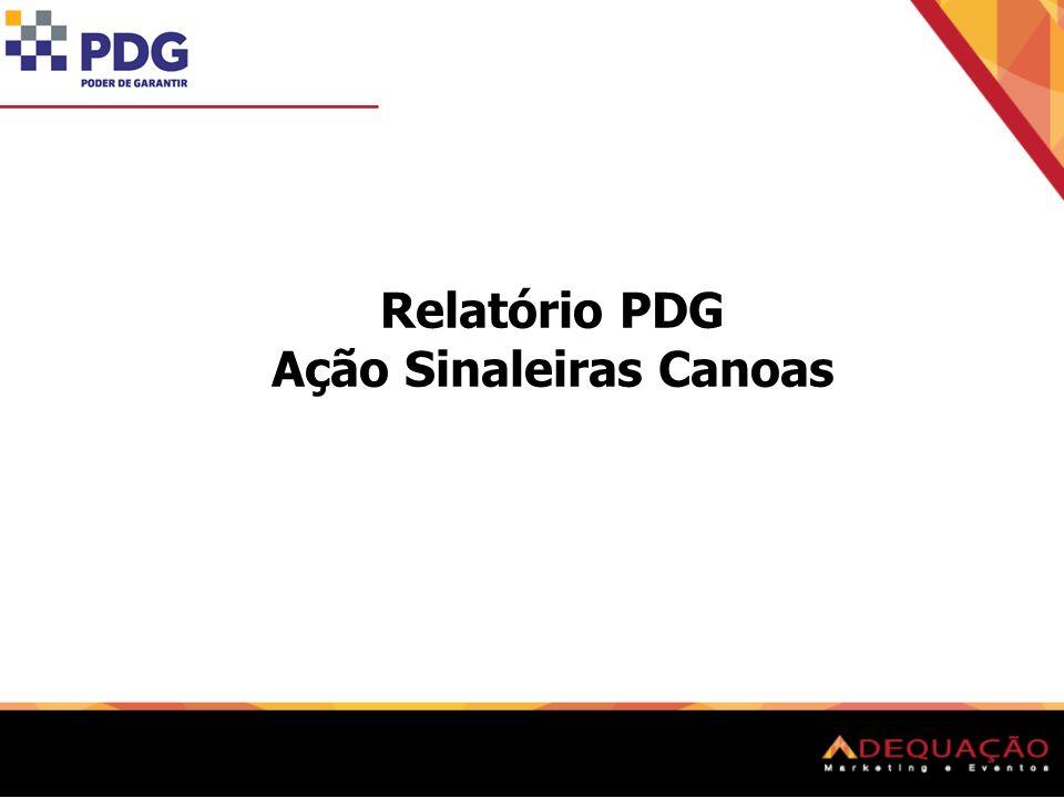 Relatório PDG Ação Sinaleiras Canoas