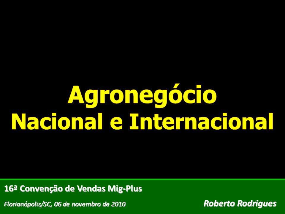 16ª Convenção de Vendas Mig-Plus Florianópolis/SC, 06 de novembro de 2010 Roberto Rodrigues