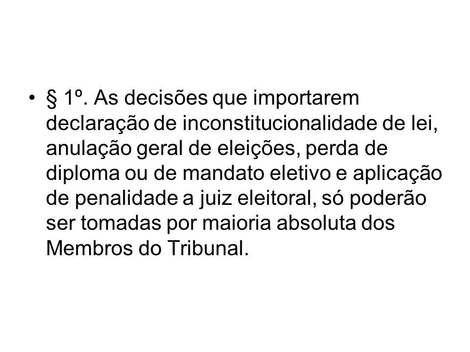 DAS ATRIBUIÇÕES DO VICE- PRESIDENTE Art.19.