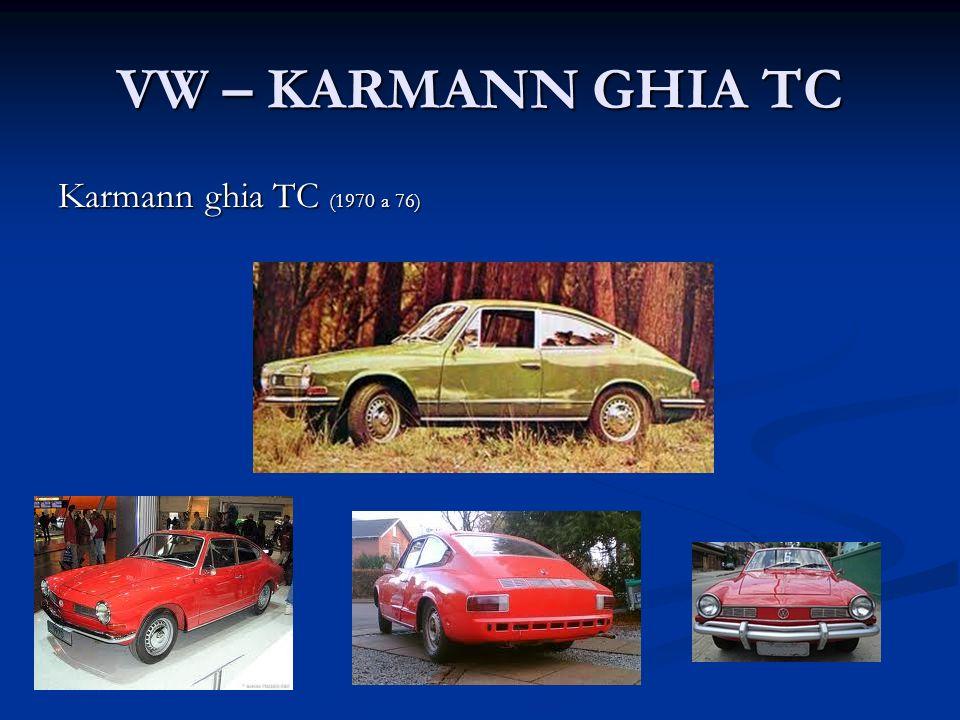 PUMA Puma GTE (1970/71 a 80).Em 1980, começa o modelo GTI Puma Spyder ( 1971 a 73 ).