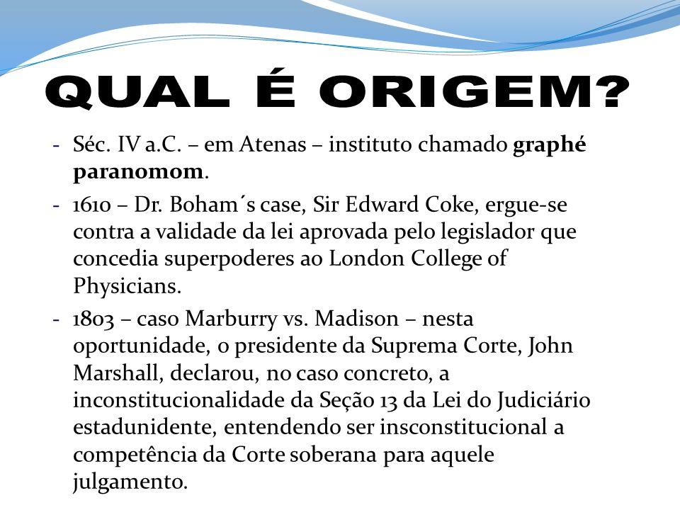 - A Constituição imperial de 1824 conferiu ao legislativo a missão de zelar ela guarda da Constituição.
