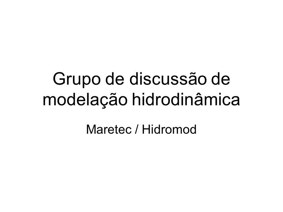 Grupo de discussão de modelação hidrodinâmica Maretec / Hidromod