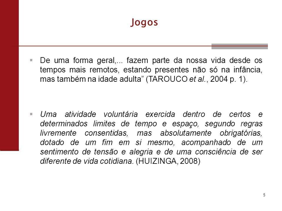 Jogos Os primeiros registros de jogos de azar datam de aproximadamente 2600 a.c.; Jogo Real de Ur (Royal Game of Ur); Jogo Senet, o mais antigo.