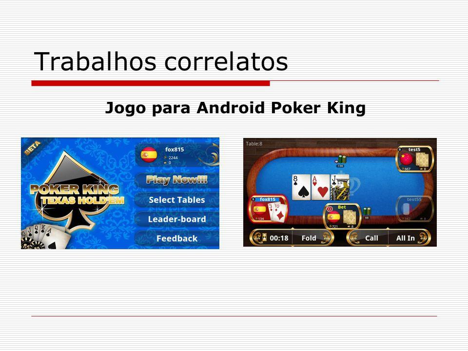 Trabalhos correlatos Jogo para Android Poker King