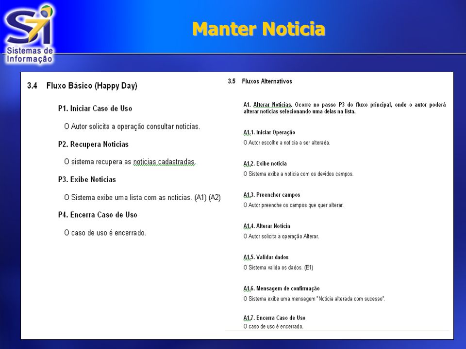 Manter Noticia