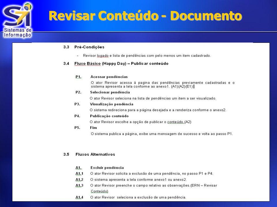 Revisar Conteúdo - Documento
