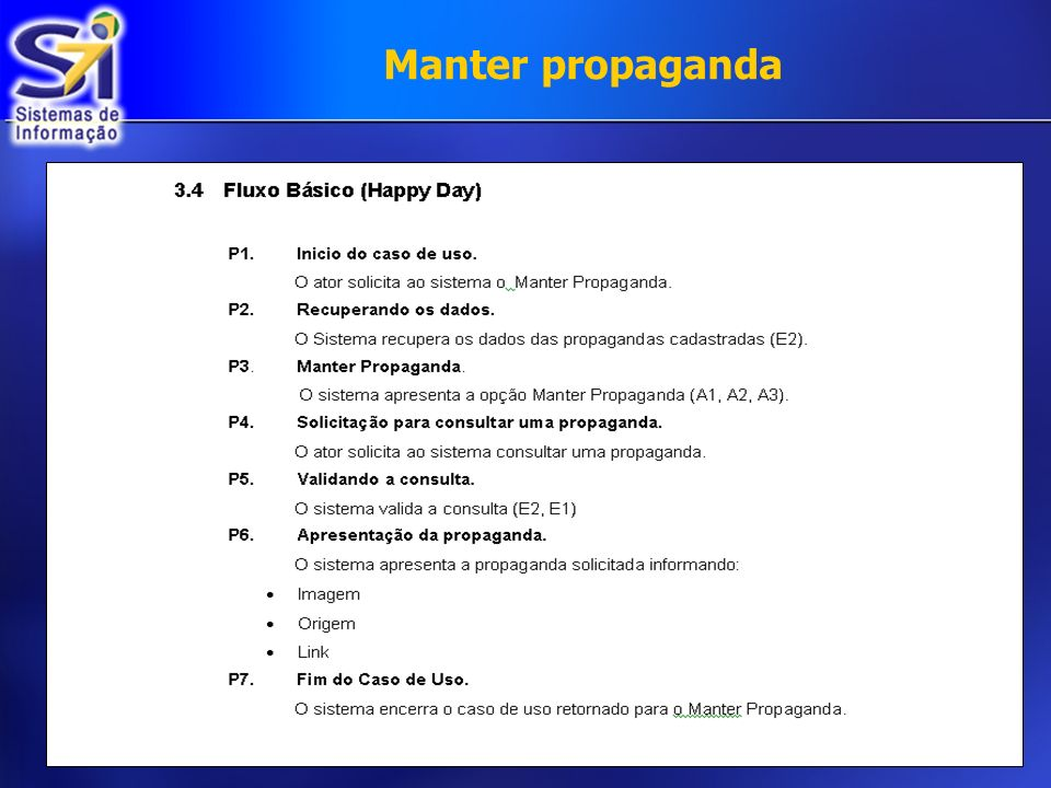 Manter propaganda
