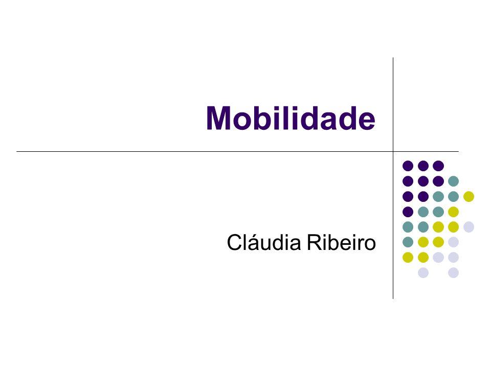 Introdução Dispositivos móveis + Wireless Aplicações móveis Novas aplicações novos requisitos