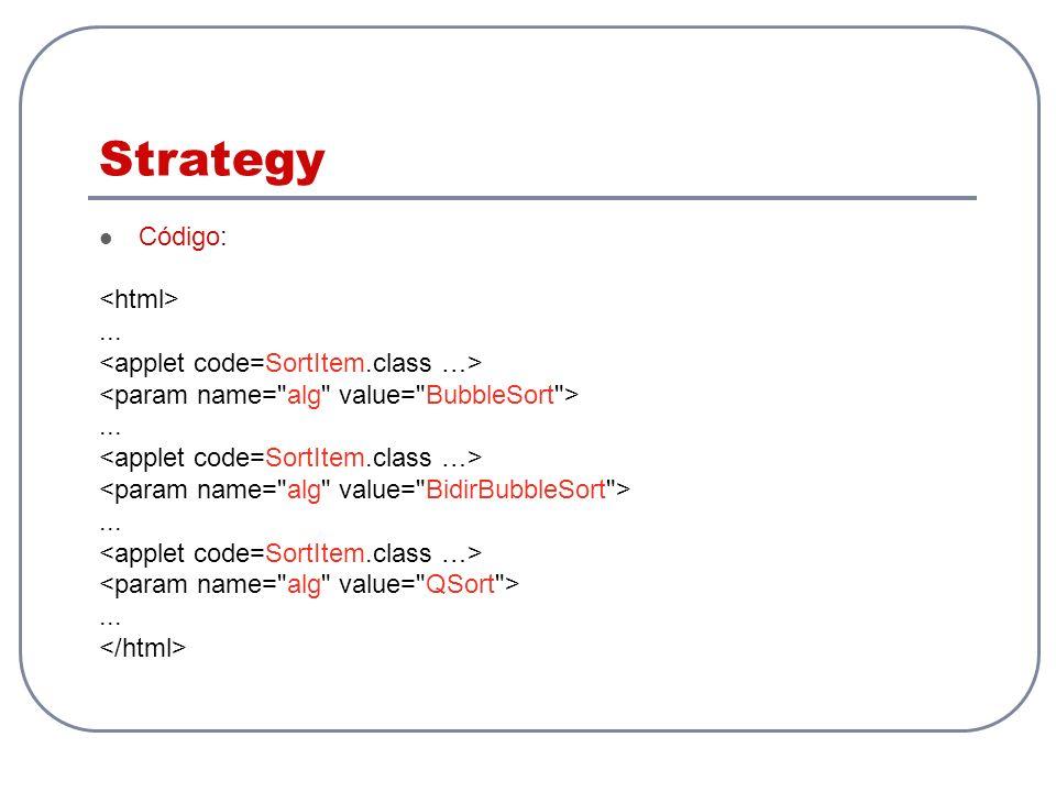 Strategy Código:............
