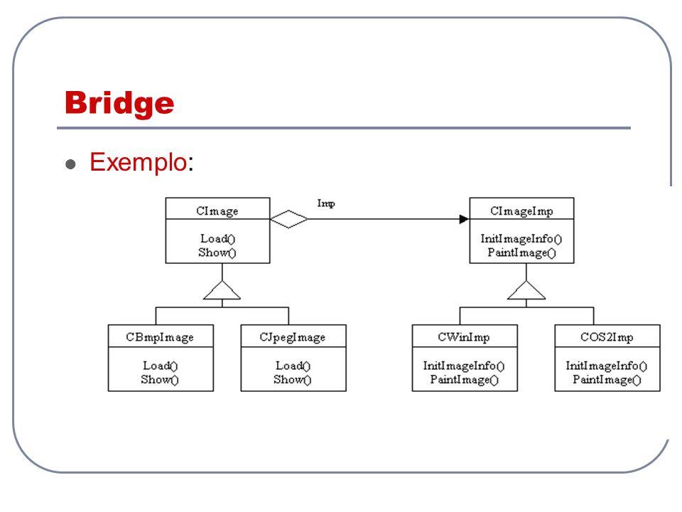 Bridge Exemplo: