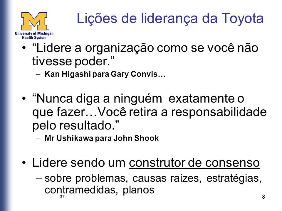 9 Na Toyota, o ônus da prova é claramente do subordinado para justificar por quê a ação proposta é necessária.