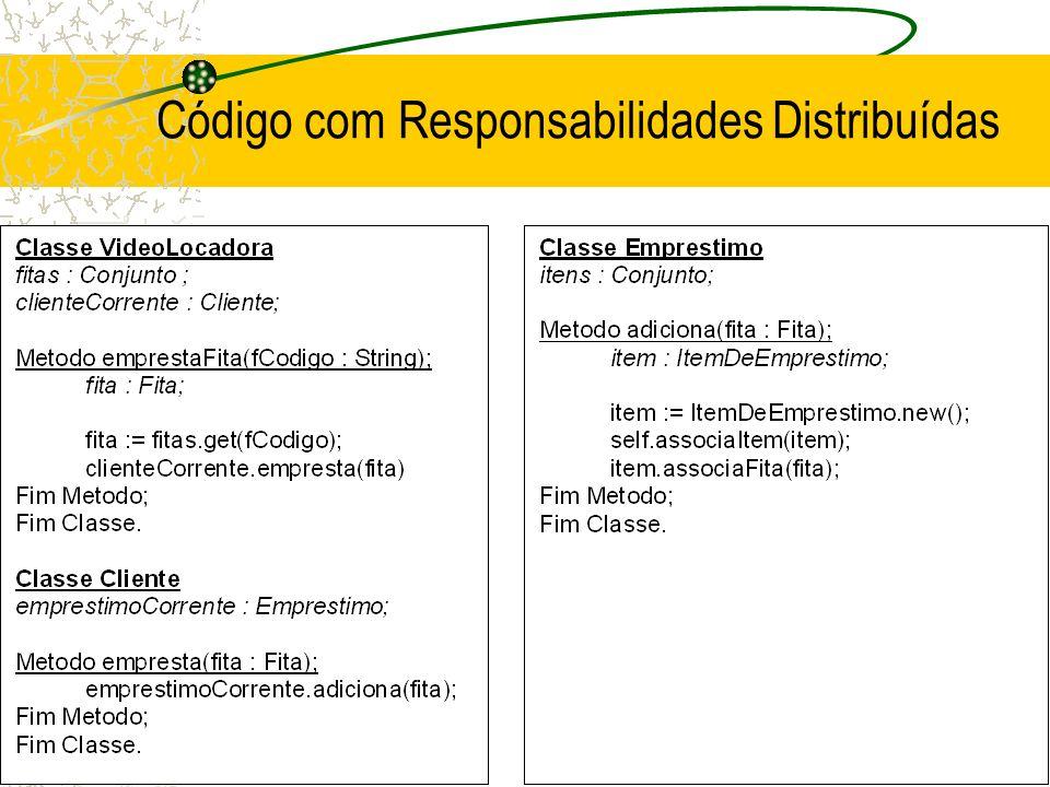 Código com Responsabilidades Distribuídas