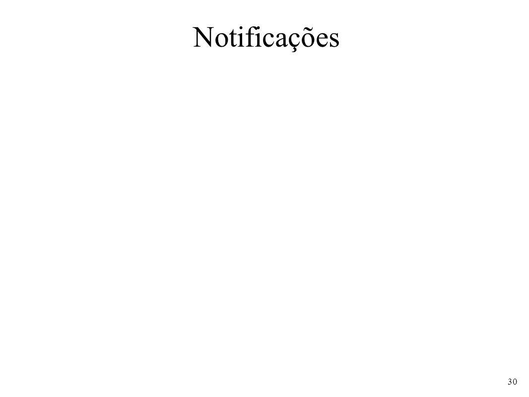 Notificações 30