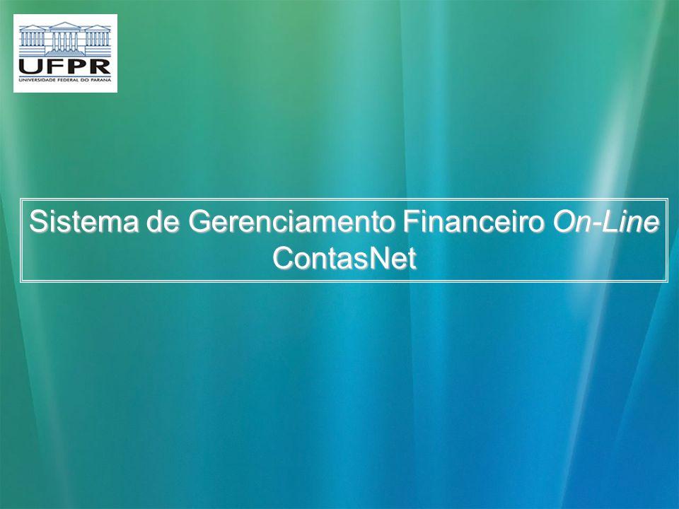 Sistema de Gerenciamento Financeiro On-Line ContasNet