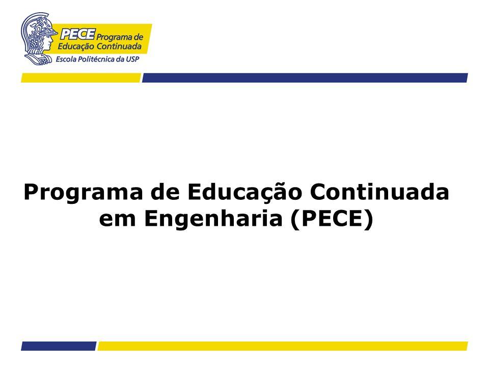 Programa de Educação Continuada em Engenharia (PECE)