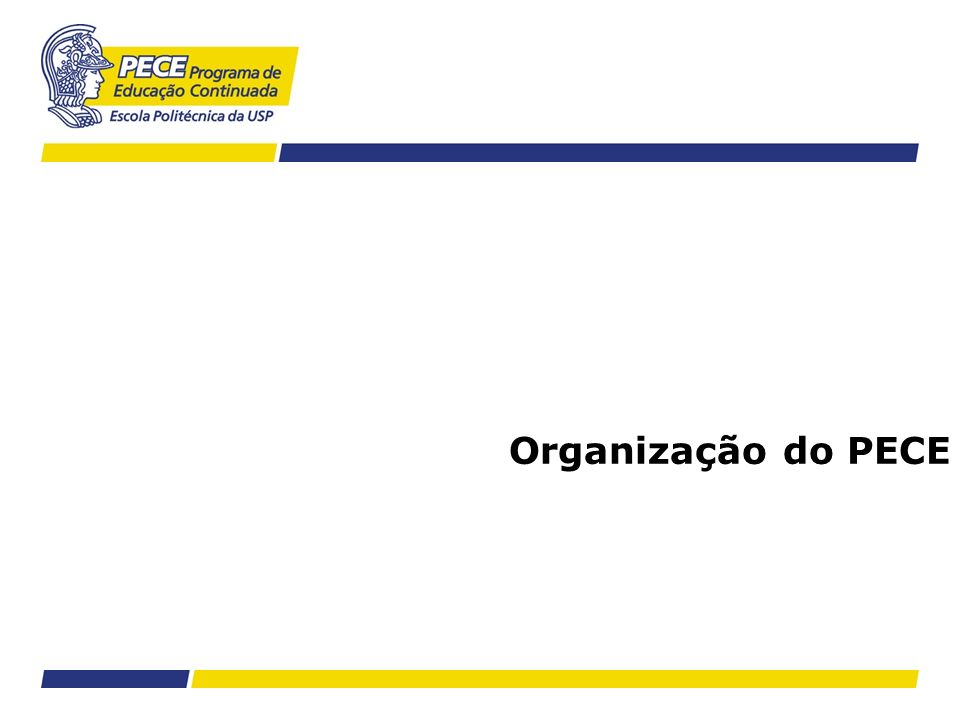 Estratégia Corporativa Modelo de Valor –Para que o funcionário se identifique com a missão do PECE Modelo Hierárquico –Para organizar os tipos de responsabilidades sobre as atividades