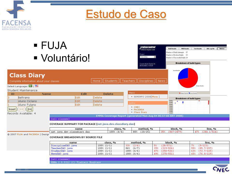 FUJA Voluntário! Estudo de Caso
