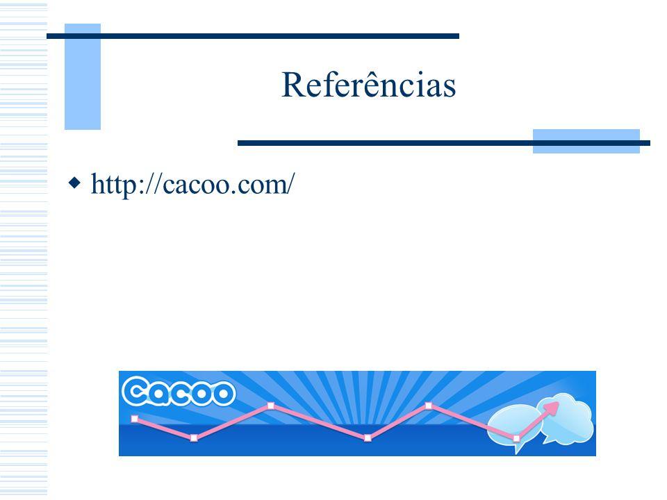 Referências http://cacoo.com/