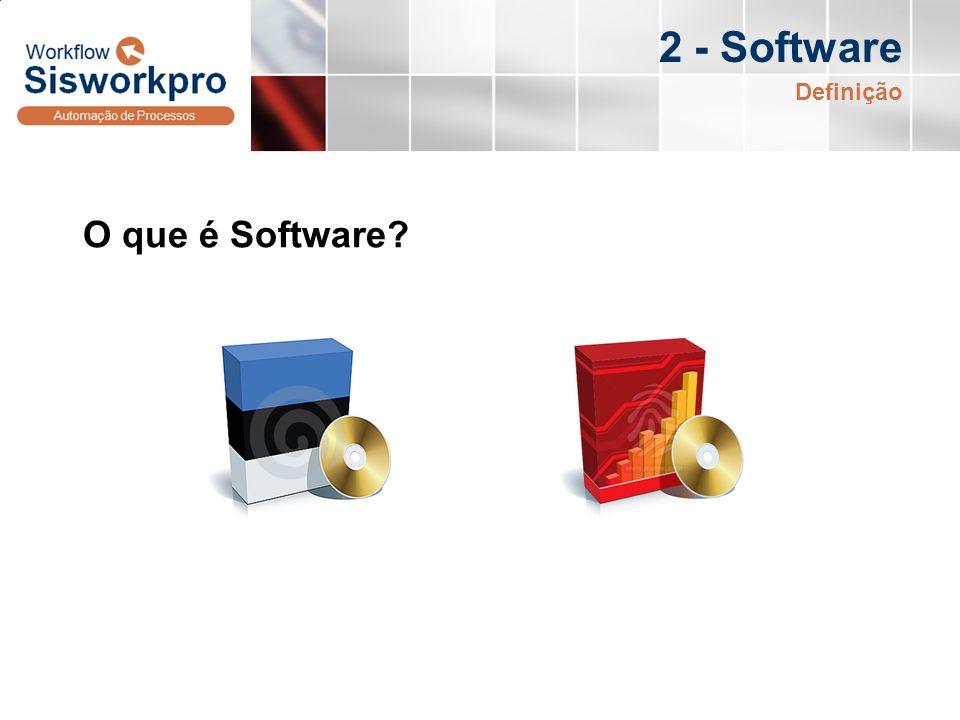 2 - Software O que é Software? Definição