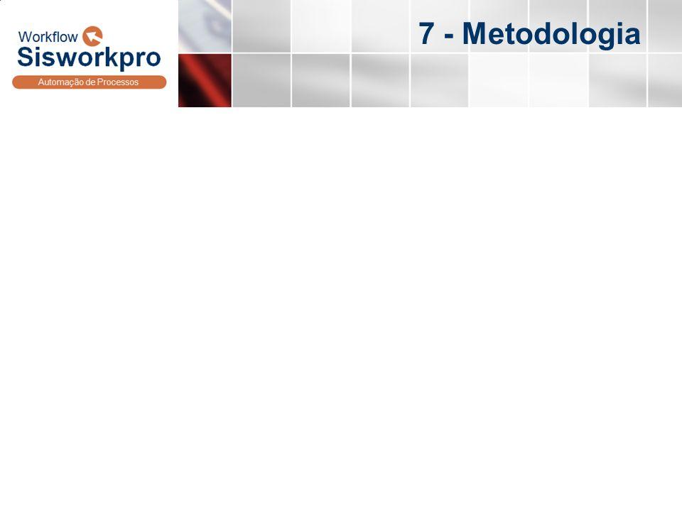 7 - Metodologia