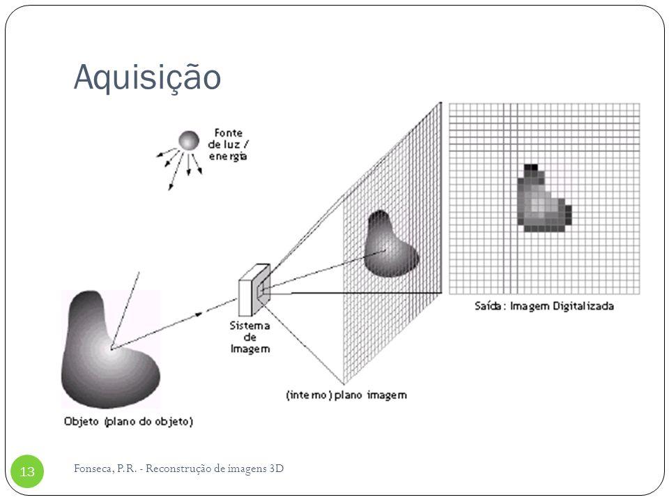 Aquisição Fonseca, P.R. - Reconstrução de imagens 3D 13