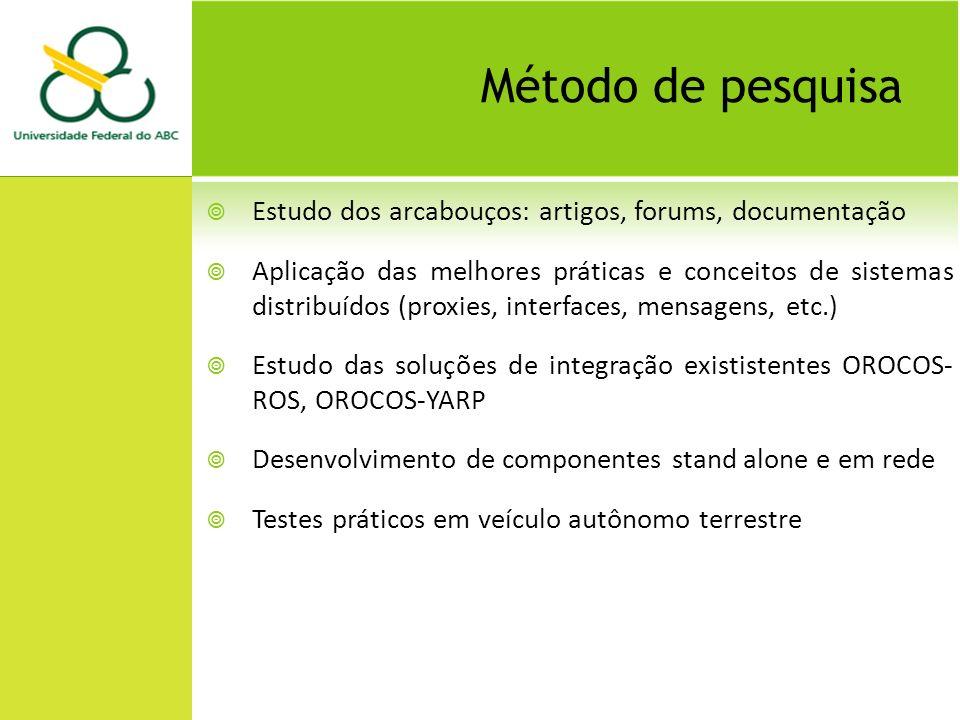 Trabalhos relacionados Service Component Architectures in Robotics: the SCA-Orocos integration - D.