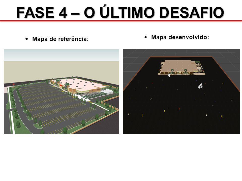 Mapa de referência: Mapa desenvolvido: FASE 4 – O ÚLTIMO DESAFIO