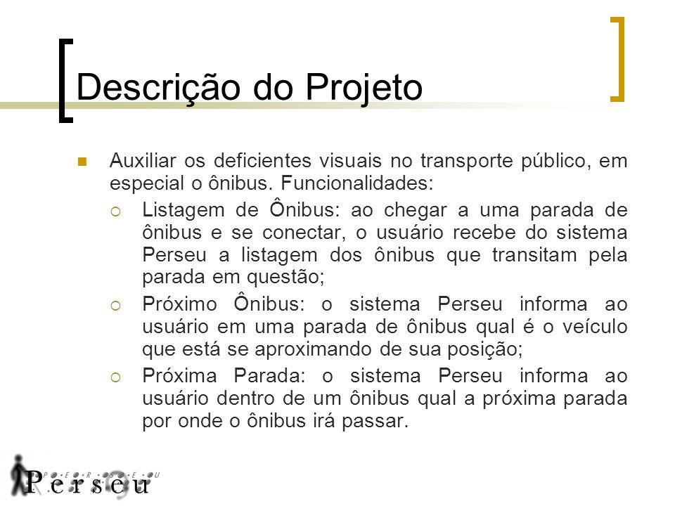 Descrição do Projeto Auxiliar os deficientes visuais no transporte público, em especial o ônibus.