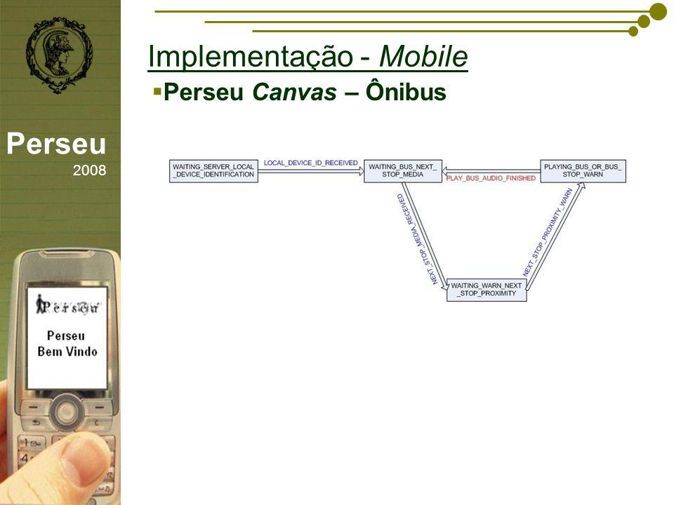 sfsdffsdf Implementação - Mobile Perseu 2008 Perseu Canvas – Ônibus