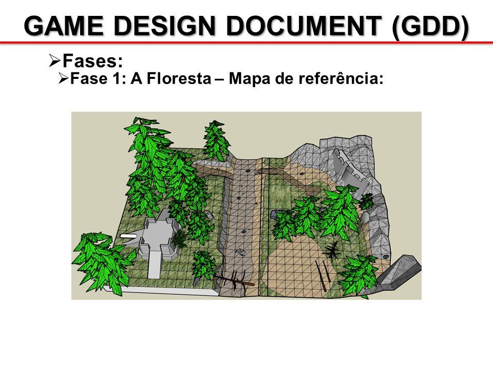 GAME DESIGN DOCUMENT (GDD) Fases: Fase 1: A Floresta – Mapa de referência: