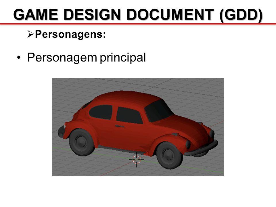 GAME DESIGN DOCUMENT (GDD) Personagens: Personagem principal