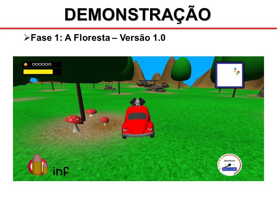 DEMONSTRAÇÃO Fase 1: A Floresta – Versão 1.0