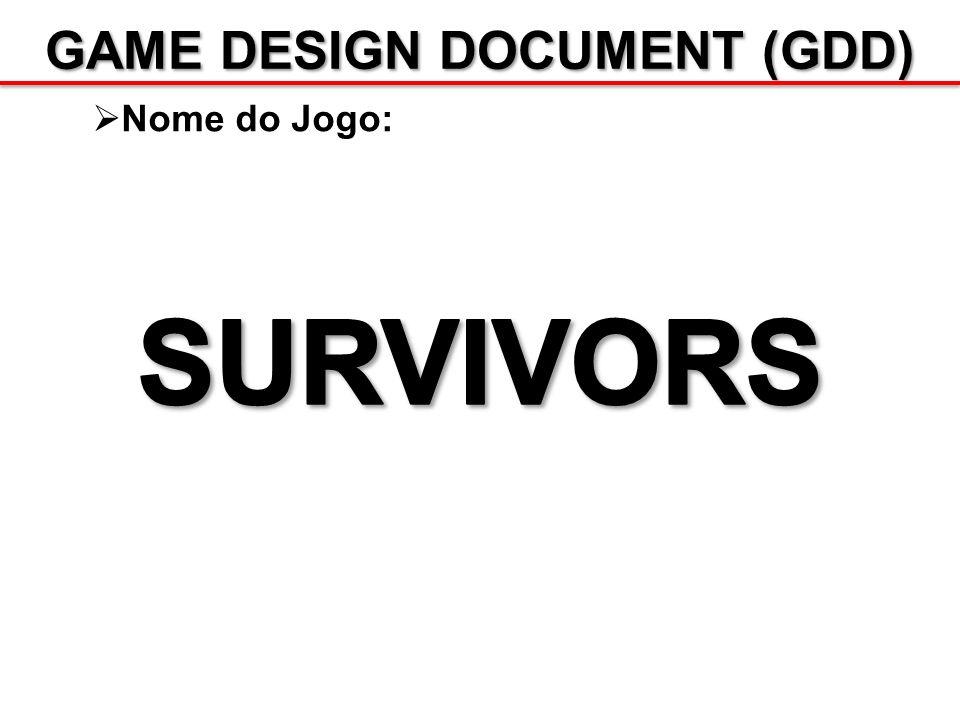 GAME DESIGN DOCUMENT (GDD) Produção: Há 5 fases no processo de se produzir um jogo: 1.Conceito o Design conceitual do jogo / Overview; o Green Light; 2.Pré-produção o Planejamento; Milestones / Deliverables; o GDD; 3.Produção o Criação do jogo; 4.Pós-produção o Identificação e solução de problemas; 5.Aftermarket