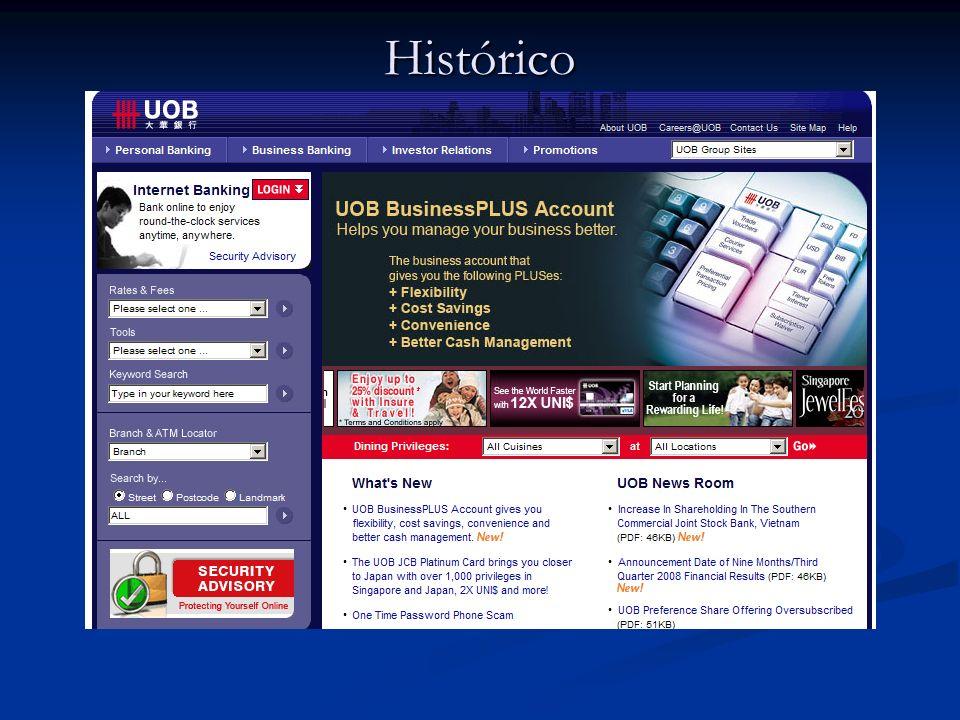 Casos de sucesso United Overseas BankUnited Overseas Bank, em Singapura.