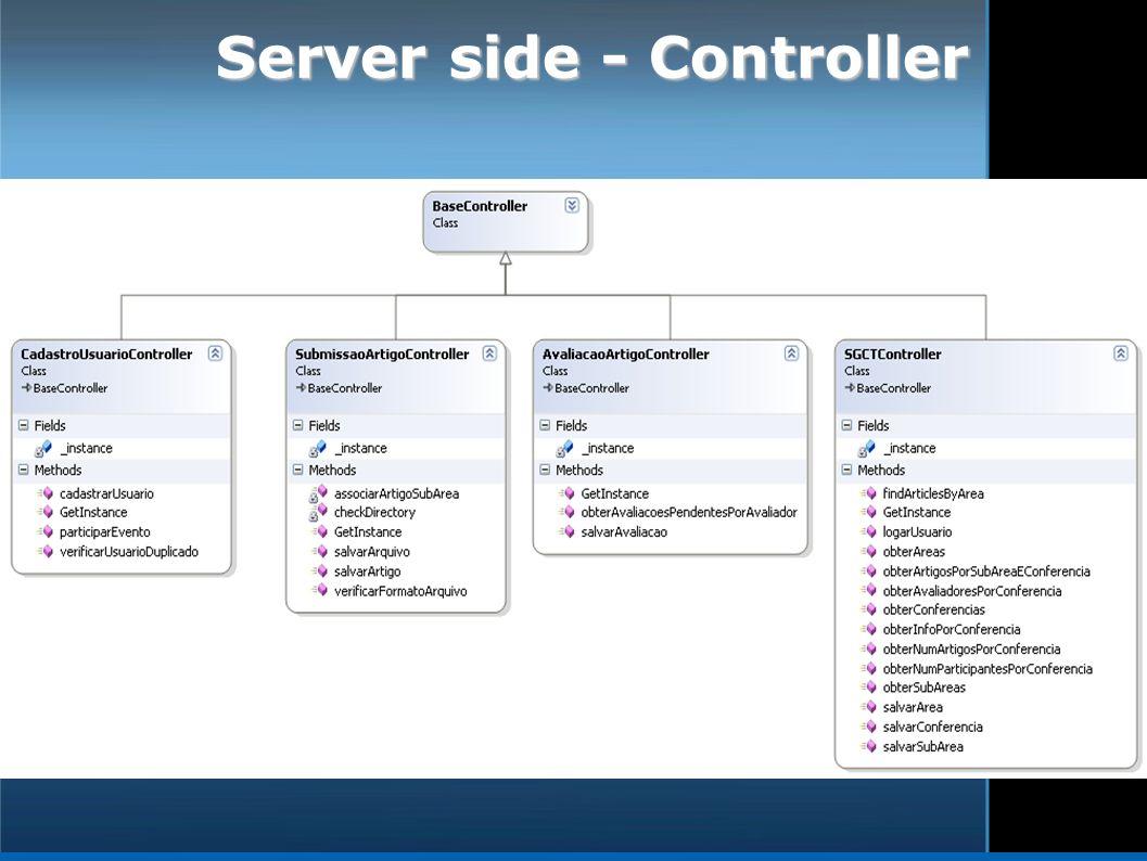 Server side - Controller